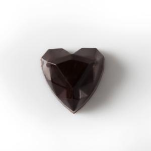 Chocolate 70 % , crujiente de neulas y ganaches 70 %