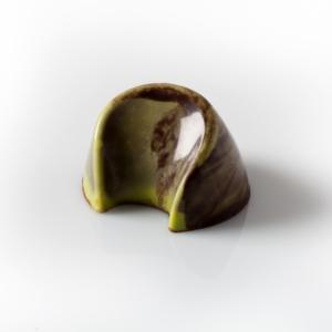 CREMA CATALANA Chocolate con leche 38%, ganache de canela limón y caramelo